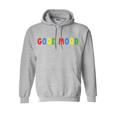 GOOD MOOD SWEATER EV DESIGNS UK CLOTHING BRAND SWEATER SWEATSHIRT HOODIE