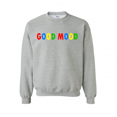 GOOD MOOD SWEATER EV DESIGNS UK CLOTHING BRAND SWEATER SWEATSHIRT