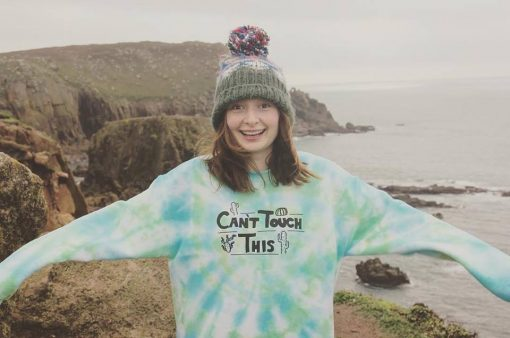 cant touch this tie-dye sweater EV Designs UK