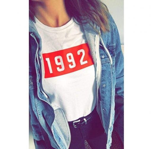 Red Box Tee 1992 EV Designs UK Fashion Cool tshirt graphic tshirt customer photo clothing brand