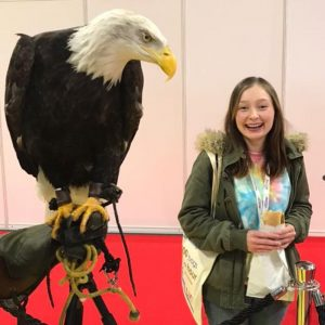 Eagle at the NEC printwear and promotion expo