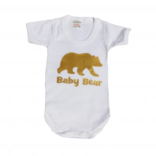 baby bear babygrow ev designs uk babyshower gifts kids clothes