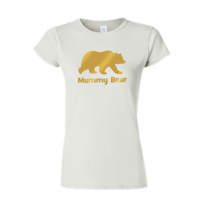 mummy bear tshirt ev designs uk clothing family goals