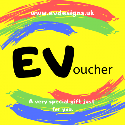 A very special gift just for you. EV Designs UK Gift Voucher Gift Card