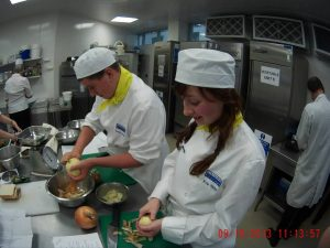 EV EATS canterbury College catering course