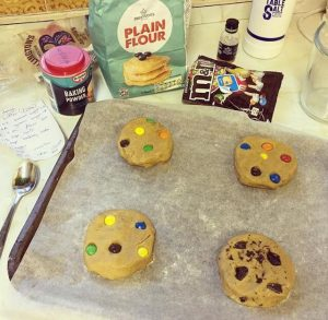 m&m homemade cookie recipe