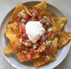 nachos homemade salsa recipe